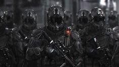Armor Concept, Concept Art, World Of Warriors, Futuristic Armour, Military Special Forces, Sci Fi Armor, Future Soldier, Gun Art, Military Pictures