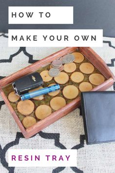 resin tray DIY how to make your own resin tray Resin Table Top, Epoxy Resin Table, Epoxy Resin Art, Diy Epoxy, Ice Resin, Diy Resin Tray, Diy Resin Crafts, Wood Crafts, Diy Wood