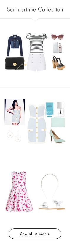 """""""Summertime Collection"""" by minicelebfashion on Polyvore featuring Pierre Balmain, Lipsy, Primigi, French Connection, Disney, Sophia Webster, Moulin Roty, David Charles and Le Toy Van"""