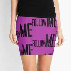 Follow Me, Knitted Fabric, Cool Designs, Gym Shorts Womens, Mini Skirts, Pencil, Knitting, Printed, Awesome