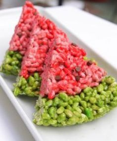 watermelon rice krispies #soulfood