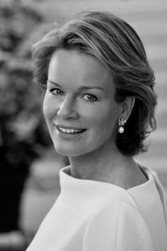 Queen Mathilde of Belgium DHS is the Queen of the Belgians as the wife of King Philippe, who ascended the throne following the abdication of his father, King Albert II, on 21 July 2013.