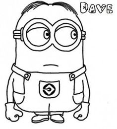 Find This Pin And More On Brn Minion Coloring Pages