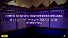 #Pyramids .. The #Healing #Energy .. #SoulTrends #Meditation #HSRLayout #Bengaluru #MeditationRoom #SpiritualBengaluru
