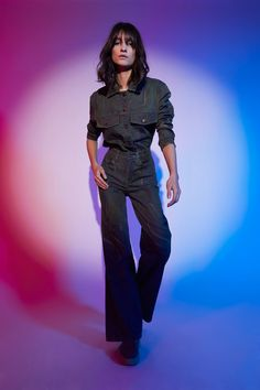 Nicole Miller Fall 2021 Ready-to-Wear Collection - Vogue Fashion News, Fashion Beauty, Fashion Show, Fashion Trends, Nicole Miller, Canadian Tuxedo, Autumn Winter Fashion, Fall Winter, Ready To Wear