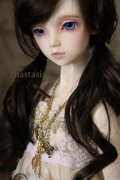 Japanese Ball Jointed Dolls | Asian Ball-Jointed Dolls / Volks SD13 Rinon by Veroferdi, via Flickr