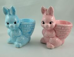 Egg Cup Holders for Easter Breakfast by mandicrafts