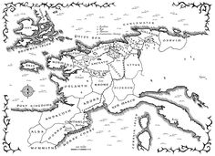the broken empire map - Google Search