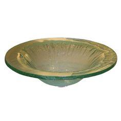 Contemporary Bath Design�5.25-in D Clear Glass Vessel Sink