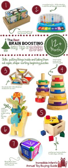 Best Developmental Toys for Babies over 12 Months