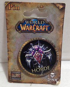 (TAS012544) - World of WarCraft Horde Pin