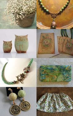 Whisper of sage  by Jan Strauel on Etsy--Pinned with TreasuryPin.com