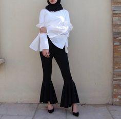 Hijab + Statement Sleeves (jawaherrbrr)