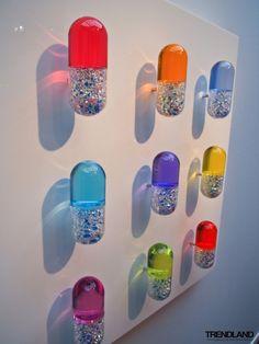 Luxury Therapy II- Installation by Mauro Perucchetti
