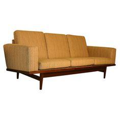 Danish, Hans Wegner sofa.