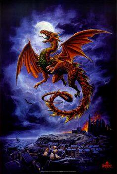 Favorite dragon poster