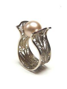Beautiful filigree ring!