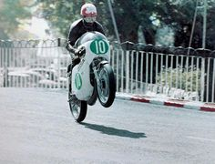 "1970. Isle of Man. Isle of Man TT. ""The Spanish Flyer"""