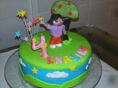 Dora cake by Omar