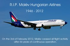 R.I.P. Malév Hungarian Airlines