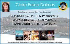 Nouvel article depuis le site littéraire Plume de Poète - rencontres & dédicaces avec Claire FASCE-DALMAS