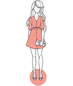 Darling Ranges dress sewing pattern - make in cherry gauze