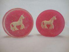 Unicorn Soap (5 pk.)--Party Favor-Unicorn-Pink Soap- Handmade Soap-Pony-Novelty Soap-Animal-Kid Soap-Childrens Soap-Unique Gift-Guest Soap
