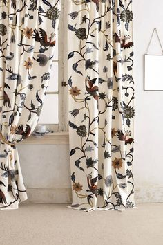 LOVE! Mantadia Curtain - anthropologie.com