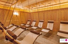 Leopoldhof Ruheraum Wellness Spa, Hanging Chair, Planer, Ideas, Design, Relaxing Room, Home Plans, Hanging Chair Stand