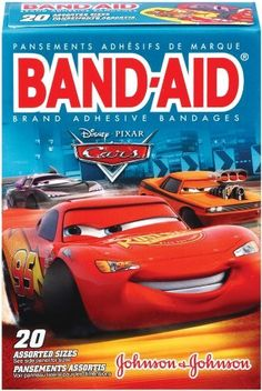 Band-Aid Brand Cars, 20-count Boxes (Pack of 6) by Band-Aid. Save 18 Off!. $17.32
