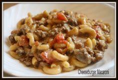 Mormon Mavens in the Kitchen: Cheeseburger Macaroni