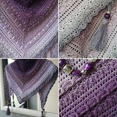 14 vind-ik-leuks, 5 reacties - ☆ Rose Marie Bouw ☆ (@justrose76) op Instagram: 'My shawl is finished!!  Pattern; Lost in time by @mijocrochet  Yarn; Scheepjes Whirl…'