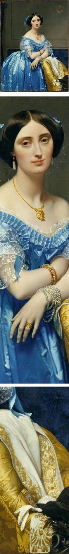 Joséphine-Éléonore-Marie-Pauline de Galard de Brassac de Béarn (1825–1860), Princesse de Broglie, Jean-Auguste-Dominique Ingres