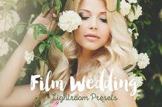 Film Wedding Lightroom Presets by BeArt-Presets on @creativemarket