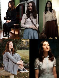 Stoker Movie, Park Chan Wook, Mia Wasikowska, Female Reference, Saddle Shoes, Gothic Girls, Work Clothes, Second Life, Movies Showing