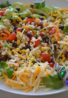Black Bean & Barley Salad