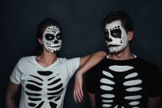 Dia de Muertos couple costume