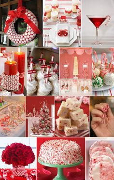 Holiday Peppermint treats, crafts, decor ideas