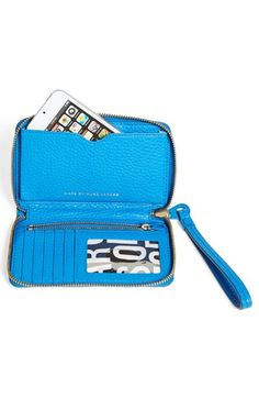 MARC BY MARC JACOBS 'Electro Q - Wingman' Phone Wallet | Nordstrom