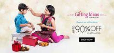 Rejoice the bond of brother and sister bond with striking gifts at exciting prices only at Trendybharat.com.  #onlineshoppinginIndia #rakshabandhangiftideas #giftideasforrakhi #rakhigiftsonline #giftsforrakhionline Shop here- https://trendybharat.com/festival/rakhi-gifts/rakhi-online