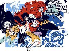 One Piece Meme, Zoro One Piece, One Piece Comic, One Piece Fanart, Vintage Illustration Art, Illustration Art Drawing, Art Drawings, Illustrations, Fandom