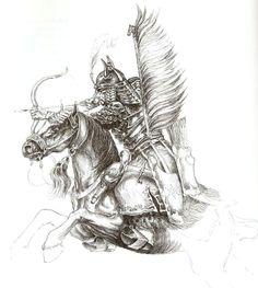 Татарский воин Крымского Ханства