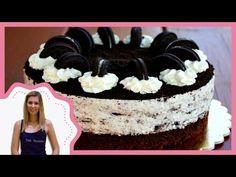 Oreo torta recepttel / Amazing Oreo cake with recipe (Sütik Birodalma) Oreo Cake, Pavlova, Birthday Cake, Mousse, Smoothie, Baking, Recipes, Food, Youtube