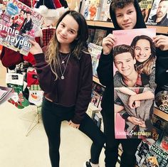 Annie and Hayden got their tiger beat now magazine that features them Annie Grace, Annie Lablanc, Annie Angel, Julianna Grace Leblanc, Hayley Leblanc, Norman, Annie Leblanc Outfits, Caleb Logan, The Perfect Daughter
