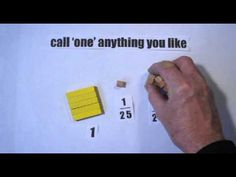 "cuisenaire rods the way of zen 100 call ""one"" anything - YouTube"