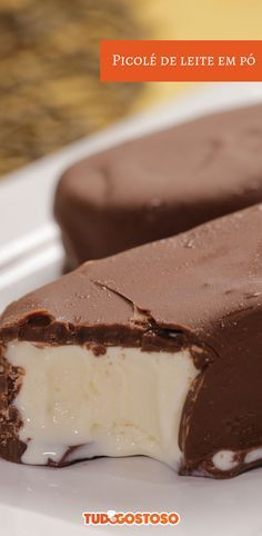 Dessert Recipes, Desserts, Sweet Life, Popsicles, Sorbet, Pasta, Food Photo, Coco, Panna Cotta