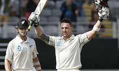 Riding on counter-attacking hundreds from skipper Brendon McCullum and Kane Williamson, New Zealand finished day one of the first Test against India in Auckland on 329 for four