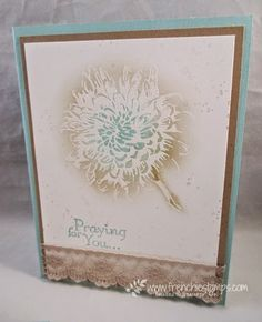 Stamp & Scrap with Frenchie: Sympathy CardsNew in-color 2015-16 Fixing ink pad
