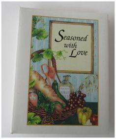 Matthews NC Cookbook Seasoned With Love United Methodist Church $4.99