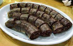 Authentic Asian Recipes: Soondae Korean Blood Sausage Recipe